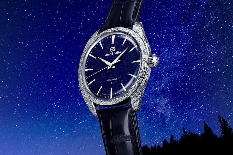 Discover the Night Sky With Grand Seiko's Limited Edition Spring Drive
