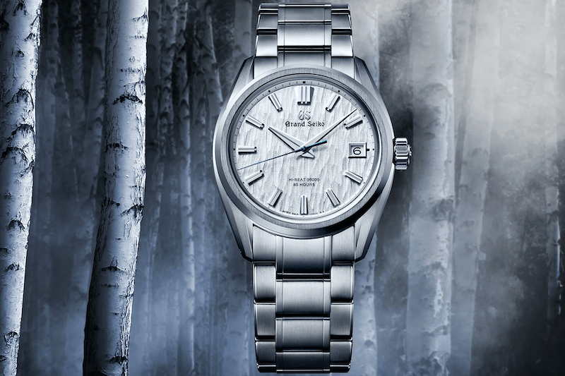 Grand Seiko SLGH005 'White Birch' Boasts New Hi-Beat Caliber 9SA5