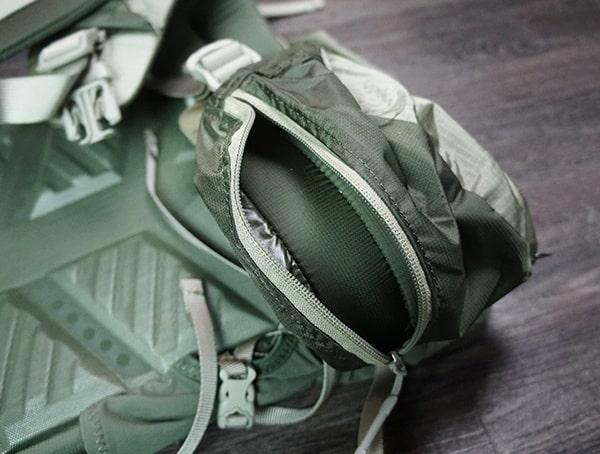 Granite Gear Crown2 60 Pack Hipbelt Pocket Open