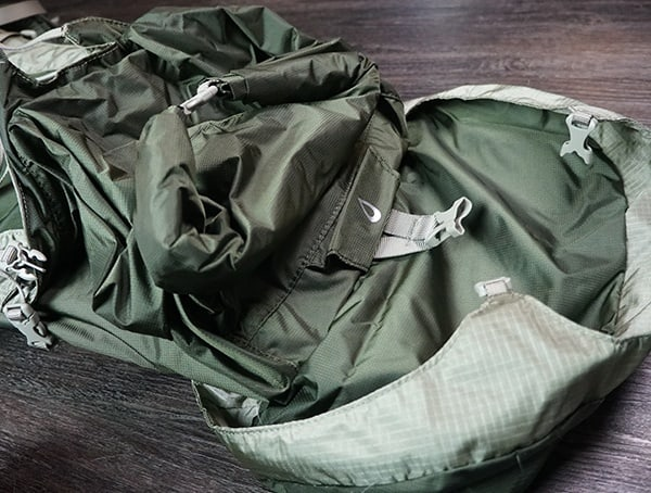 Granite Gear Crown2 60 Pack Main Compartment Open Lid