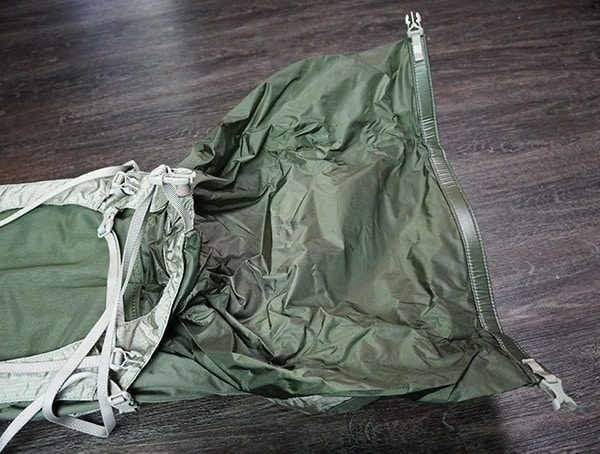 Granite Gear Crown2 60 Pack Main Compartment Open