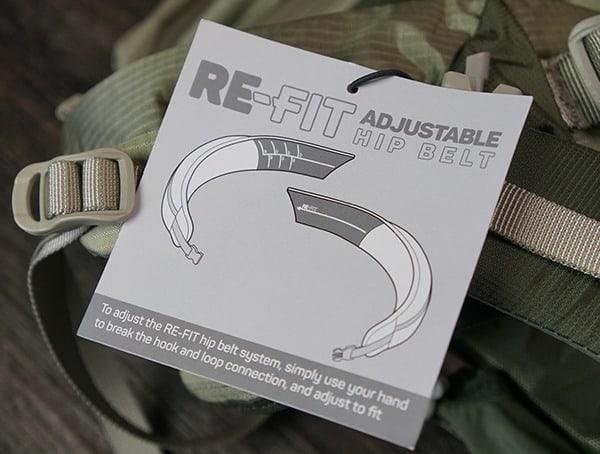 Granite Gear Crown2 60 Pack Re Fit Adjustable Hip Belt