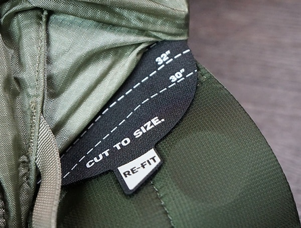Granite Gear Crown2 60 Pack Re Fit Cut To Size