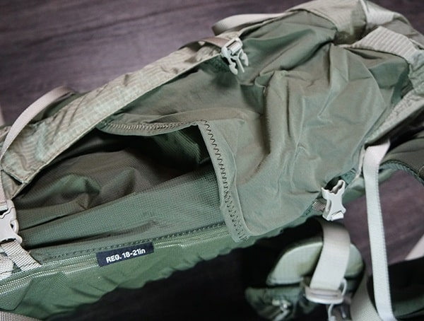 Granite Gear Crown2 60 Pack Side Pocket Empty