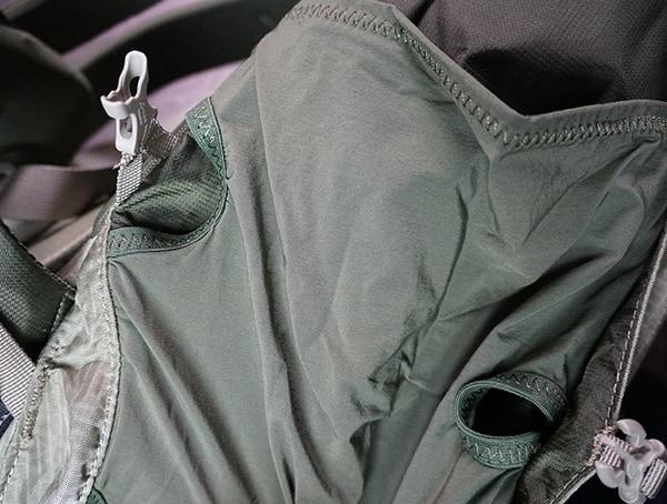 Granite Gear Crown2 60 Pack Side Strech Pocket Strap Unlatched