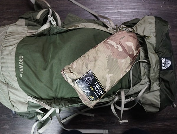 Granite Gear Crown2 60 Pack Strech Mesh Front Pocket Empty