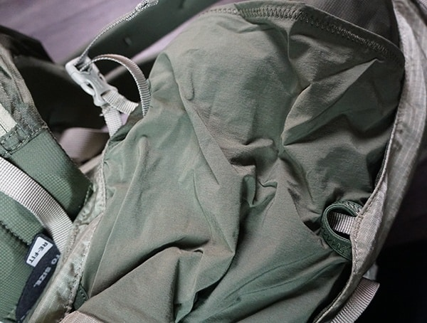Granite Gear Crown2 60 Pack Strech Side Pocket Strap Pull Through