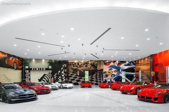 Graphic Print Wallpaper Home Design Ideas Garage Wall