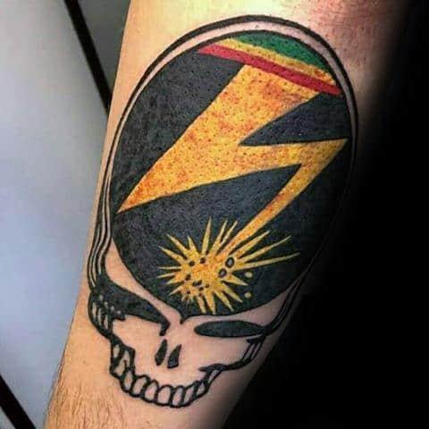 Grateful Dead Guys Tattoos