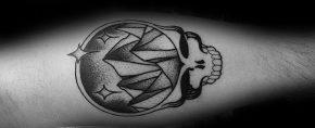 50 Grateful Dead Tattoo Designs For Men – Rock Band Ink Ideas