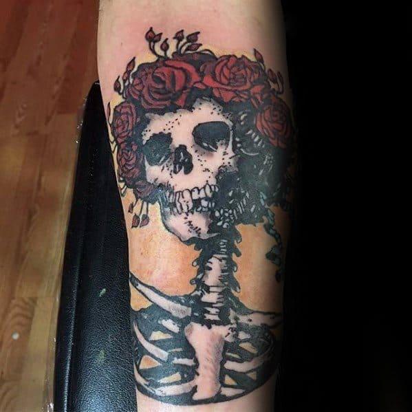 Grateful Dead Tattoo Ideas On Guys