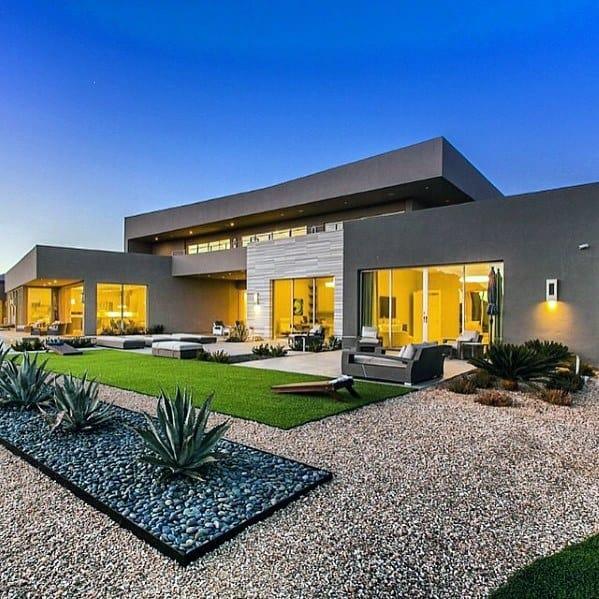 Gravel Design Ideas For Desert Landscaping