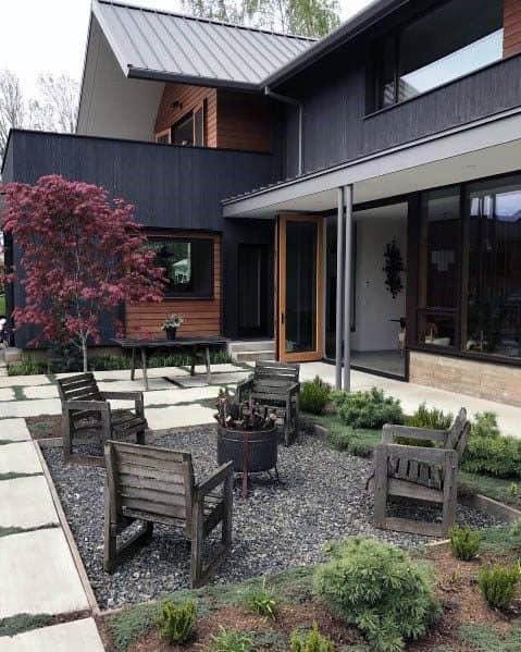 Gravel Design Ideas For Patio Firepit