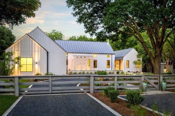 Gravel Driveway Border Design Ideas