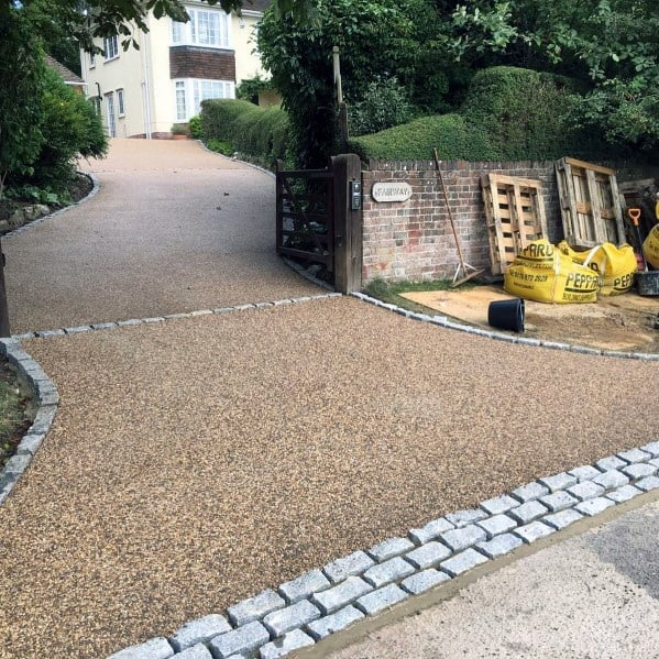 Home Driveway Design Ideas: Top 60 Best Gravel Driveway Ideas