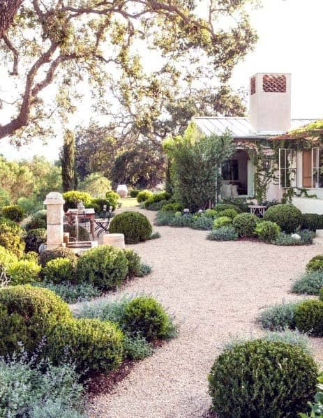 Gravel Landscaping Design Inspiration For Walkways