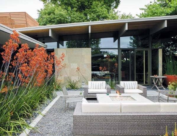 Gravel Landscaping Exterior Design For Backyards