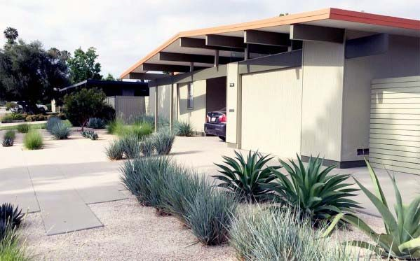 Top 60 Best Gravel Landscaping Ideas - Pebble Designs on Gravel Front Yard Ideas id=68159