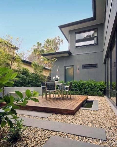Gravel Landscaping Home Designs Patio