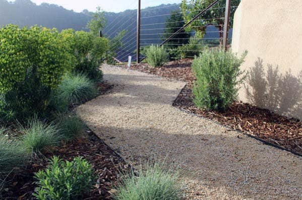 Gravel Landscaping Idea Inspiration Walkway