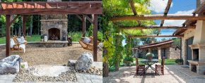 Top 40 Best Gravel Patio Ideas – Backyard Designs