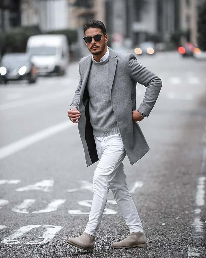 Gray Dapper Outfits