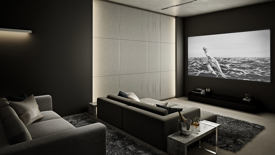 Ideas For Home Theater Seating Interior