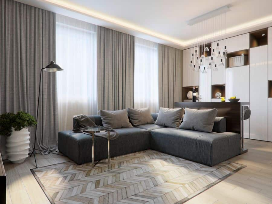 Gray Living Room Decorating Ideas 3