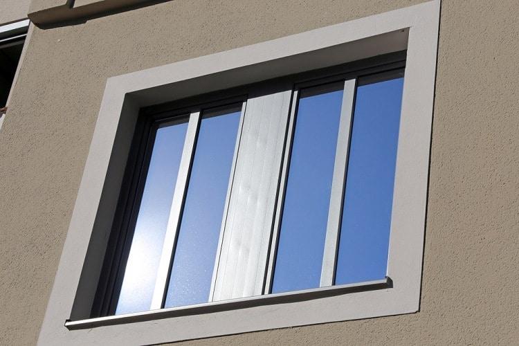 Gray Modern Exterior Window Trim