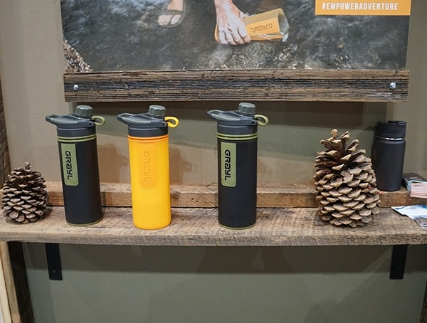 Grayl Water Purification Bottle For Camping