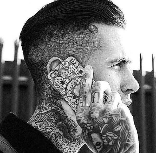 Greaser Slicked Back Hair Styles For Gentlemen