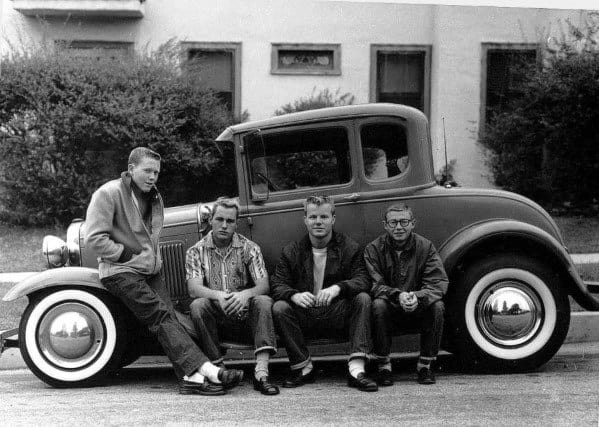 Greasers 1950s Mens Fashion