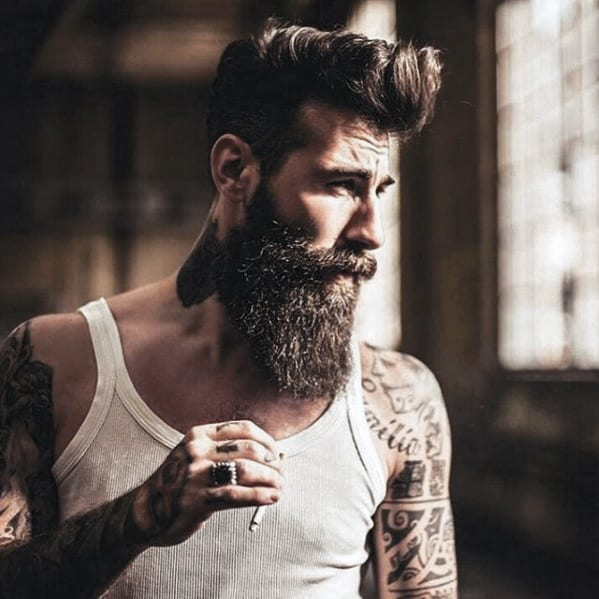 Great Beard Style Idea On Man