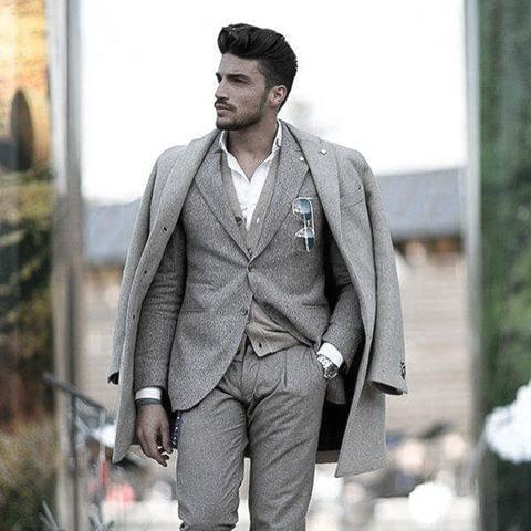 Great Grey Suit Styles For Men