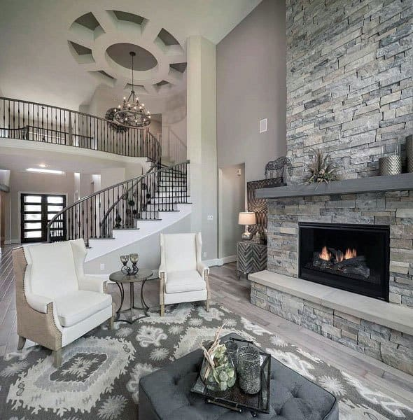 Inspiring Living Room Fireplace Ideas Style