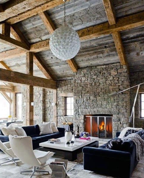 Great Room Ideas For Rustic Ceiling