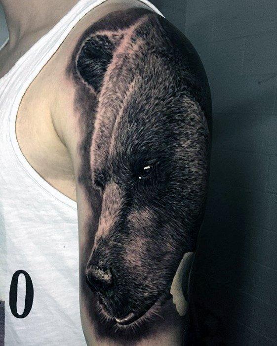 Greatest Tattoo Designs On Gentleman Half Sleeve