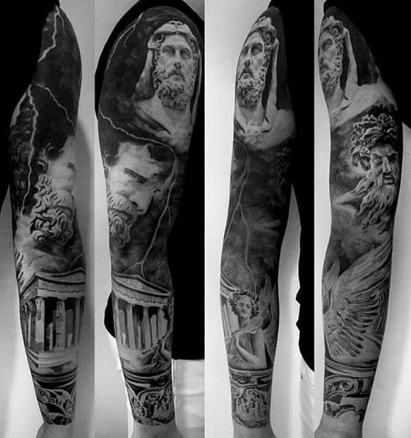 70 Unique Sleeve Tatto...