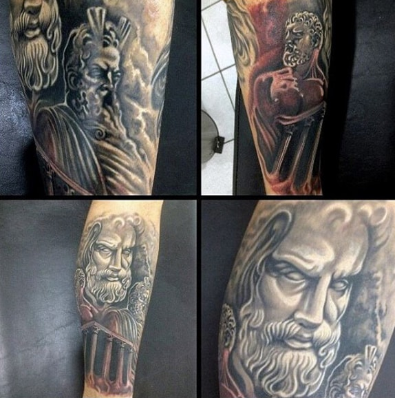 Greek Goddess Tattoos For Men