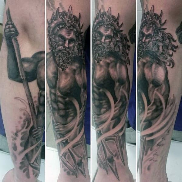 Greek Gods And Goddesses Tattoos For Guys