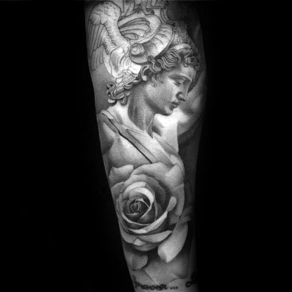 Greek Mythology Perseus Guys Tattoo Ideas Forearm Sleeve