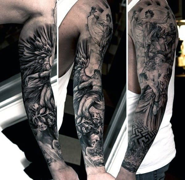 Greek Mythology Tattoo Ideas For Men