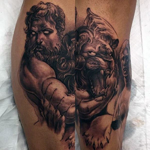 Greek Mythology Tattoos For Men