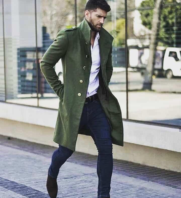 Green Coat Dapper Outfit