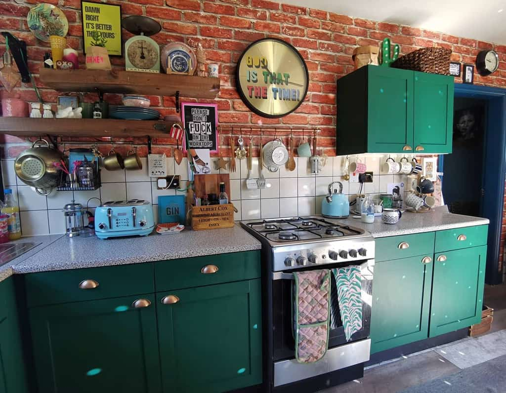 green kitchen color ideas eclecticfoxhome