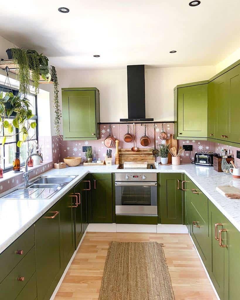 green kitchen color ideas lifeatstaustell