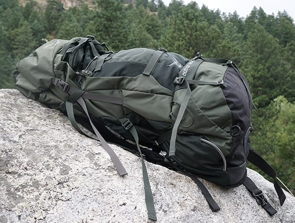 Green Osprey Aether Ag 85 Review For Backpacking