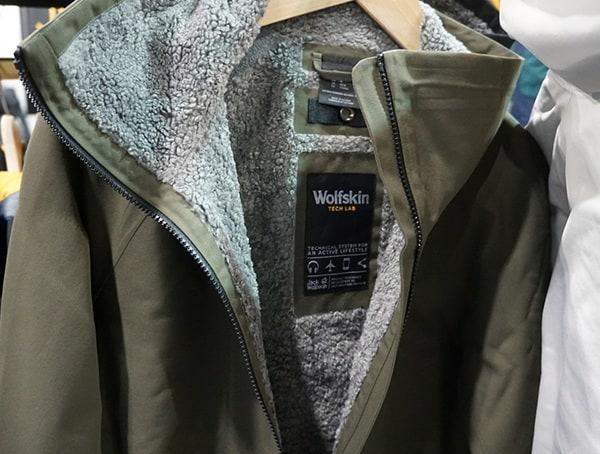 Green Wolfskin Tech Lab Mens Winter Jacket