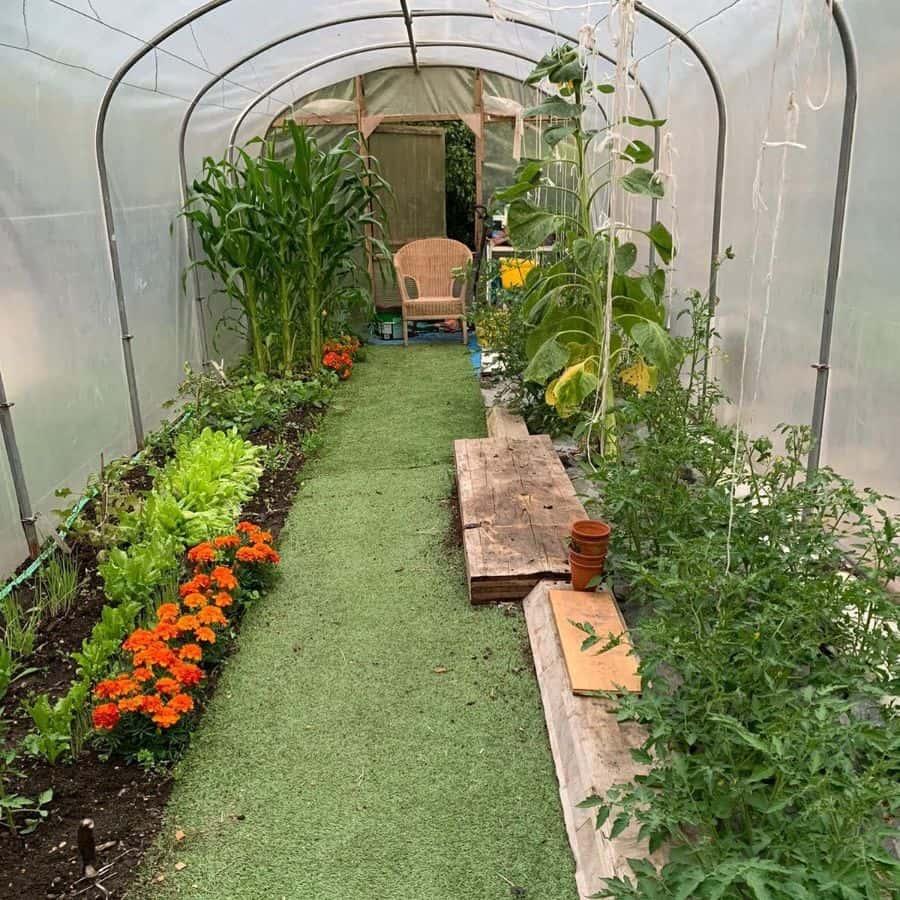 greenhouse vegetable garden ideas small_garden_big_ideas