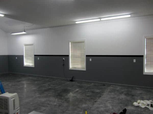 Unique Paint Walls Accent Ideas for Garage Gym Collections